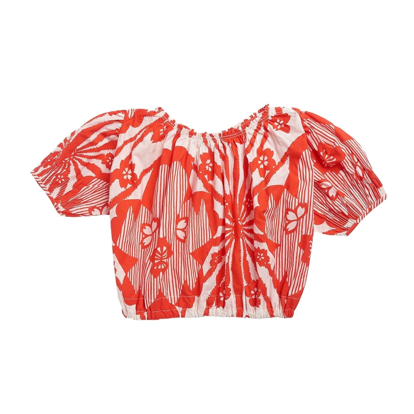 Caramel Baby & Child - Blouse Queens With Red Flowers - 1