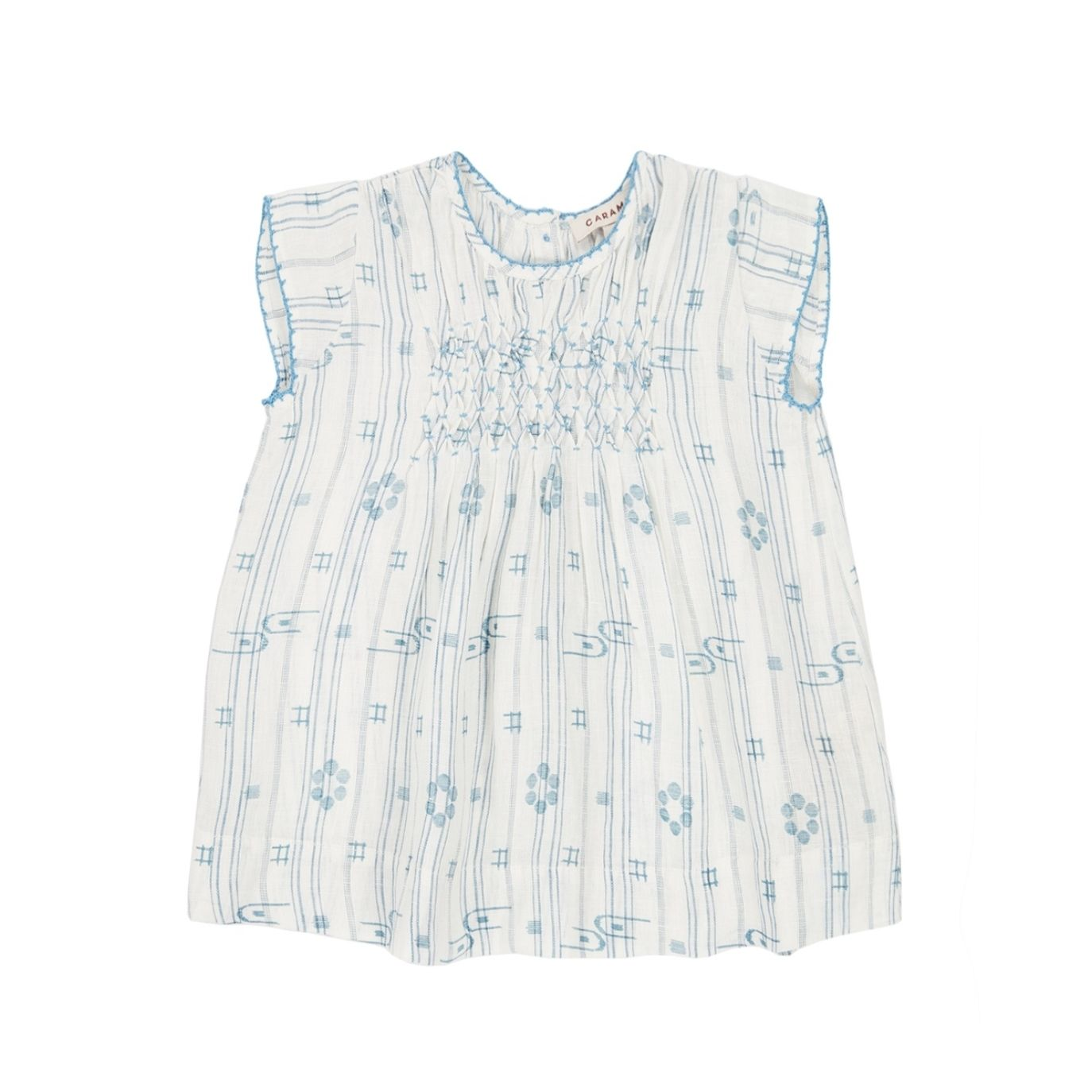 Caramel Baby & Child - Dress Clapham Baby Blue - 1