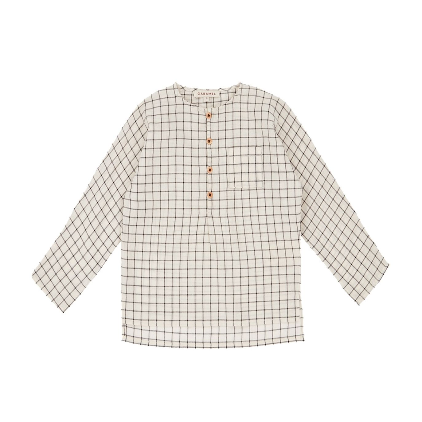 Caramel Baby & Child - Blouse Pimlico ecu ecu ecu noir - 1
