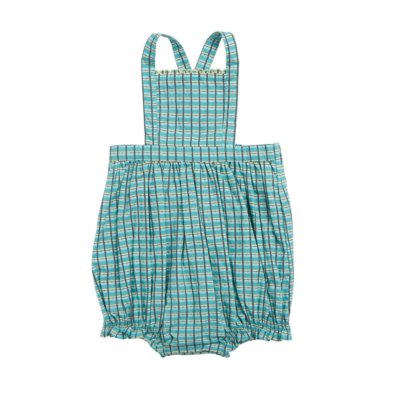 Caramel Baby & Child - Moorgate Rompers Baby Green - 1