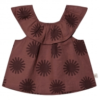 Flamenco Top Clay red