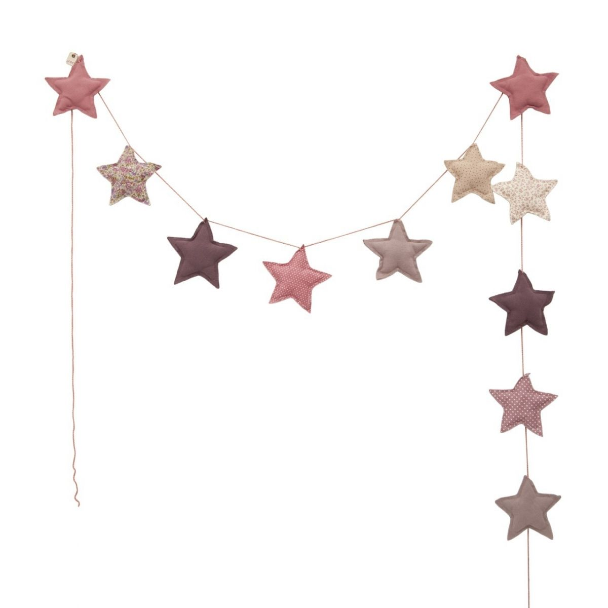 Numero 74 - Garland Mini Star mix pink - 1