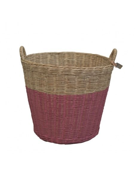 Numero 74 - Basket rattan rose - 2