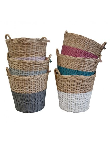 Numero 74 - Basket rattan rose - 4
