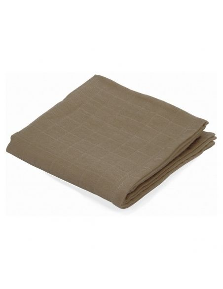 Konges Slojd - Big Musslin Swaddle Earth brown - 1