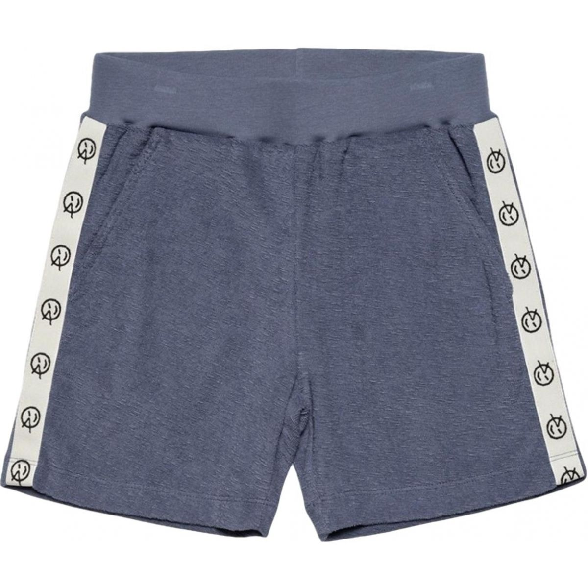 Wynken - Track Short Blue Terry - 1