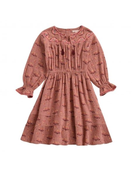 Louise Misha - Dress Lania Sienna Peru pink - 2