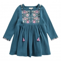 Dress Uros Lagoon blue