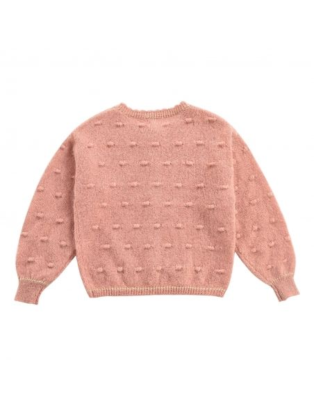 Louise Misha - Cardigan Lunata rose - 2