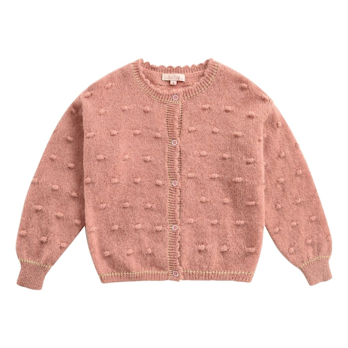 Louise Misha - Cardigan Lunata rose - 1