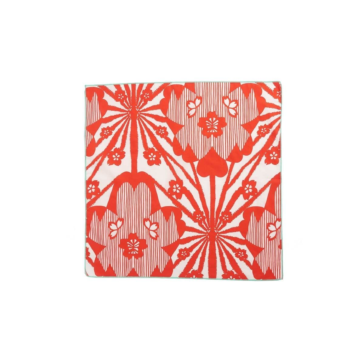 Caramel Baby & Child - Scarf With Red Flowers Print - 1