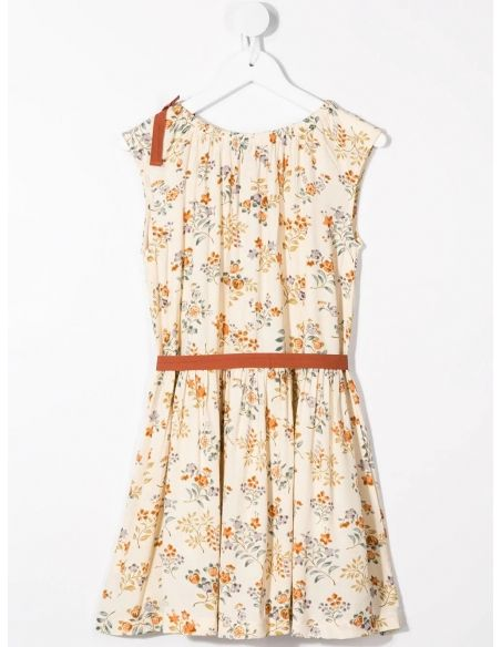 Caramel Baby & Child - Dress Notting Hill Ecru With Flowers - 5