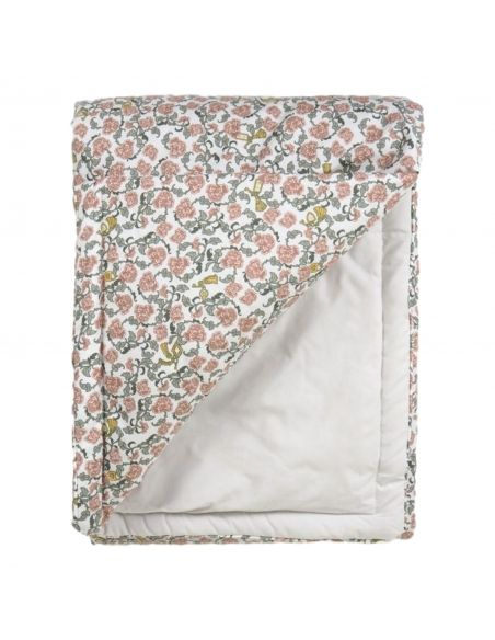 Garbo & Friends - Floral Vine Filled Blanket red - 2