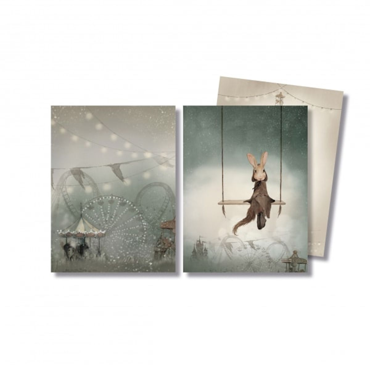 Mme. Mighetto - Lot de A6 Tivoli & Swing Cards - 1