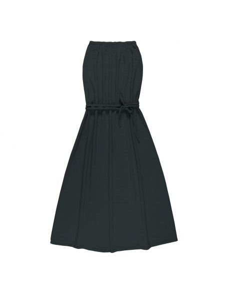 Numero 74 - Sienna Long dress Dark Grey - 1