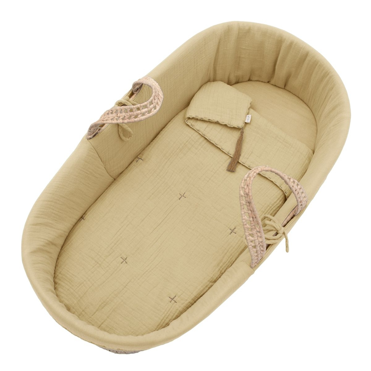 Numero 74 - Moses Basket Bed Linen mellow yellow - 1