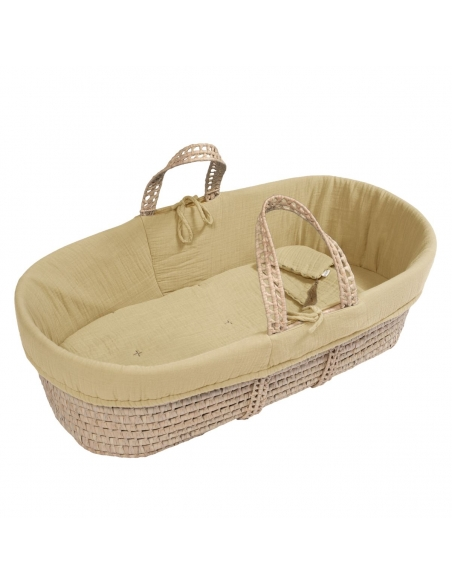 Numero 74 - Moses Basket Bed Linen mellow yellow - 2