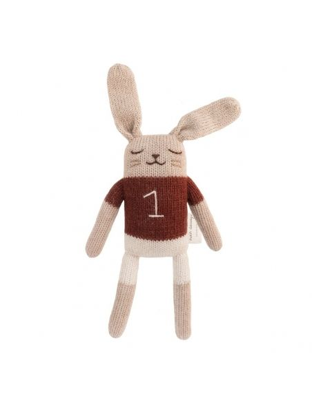 Main Sauvage - Bunny Soft Toy With Sienna Shirt - 1