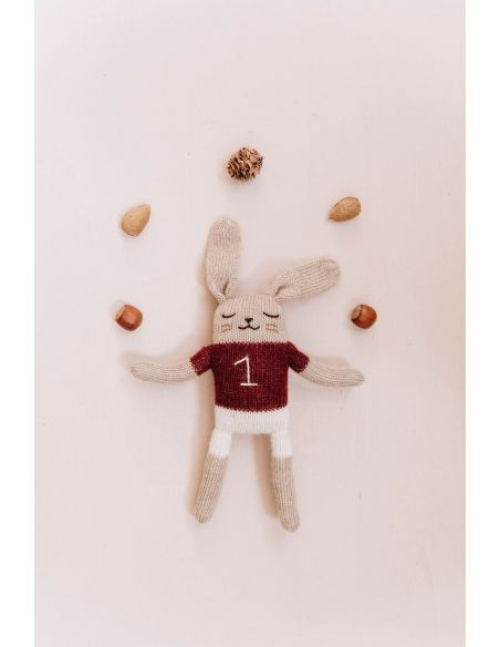 Main Sauvage - Bunny Soft Toy With Sienna Shirt - 2