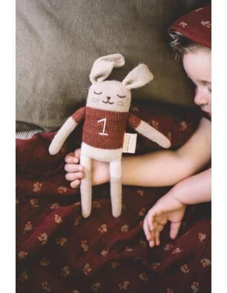 Main Sauvage - Bunny Soft Toy With Sienna Shirt - 3