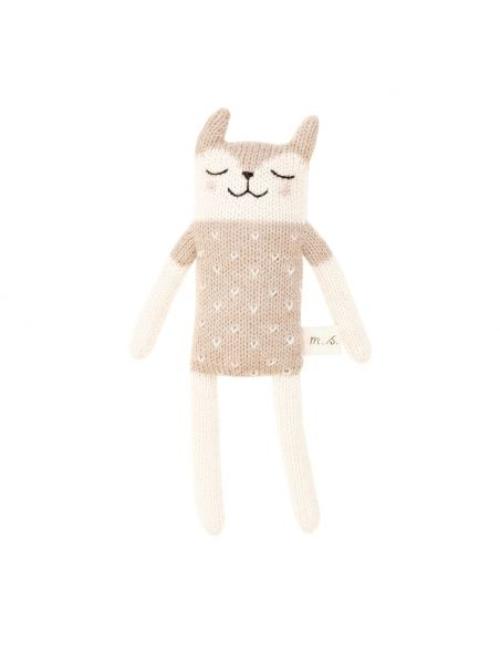 Main Sauvage - Fawn Soft Toy With Sand Blouse - 1