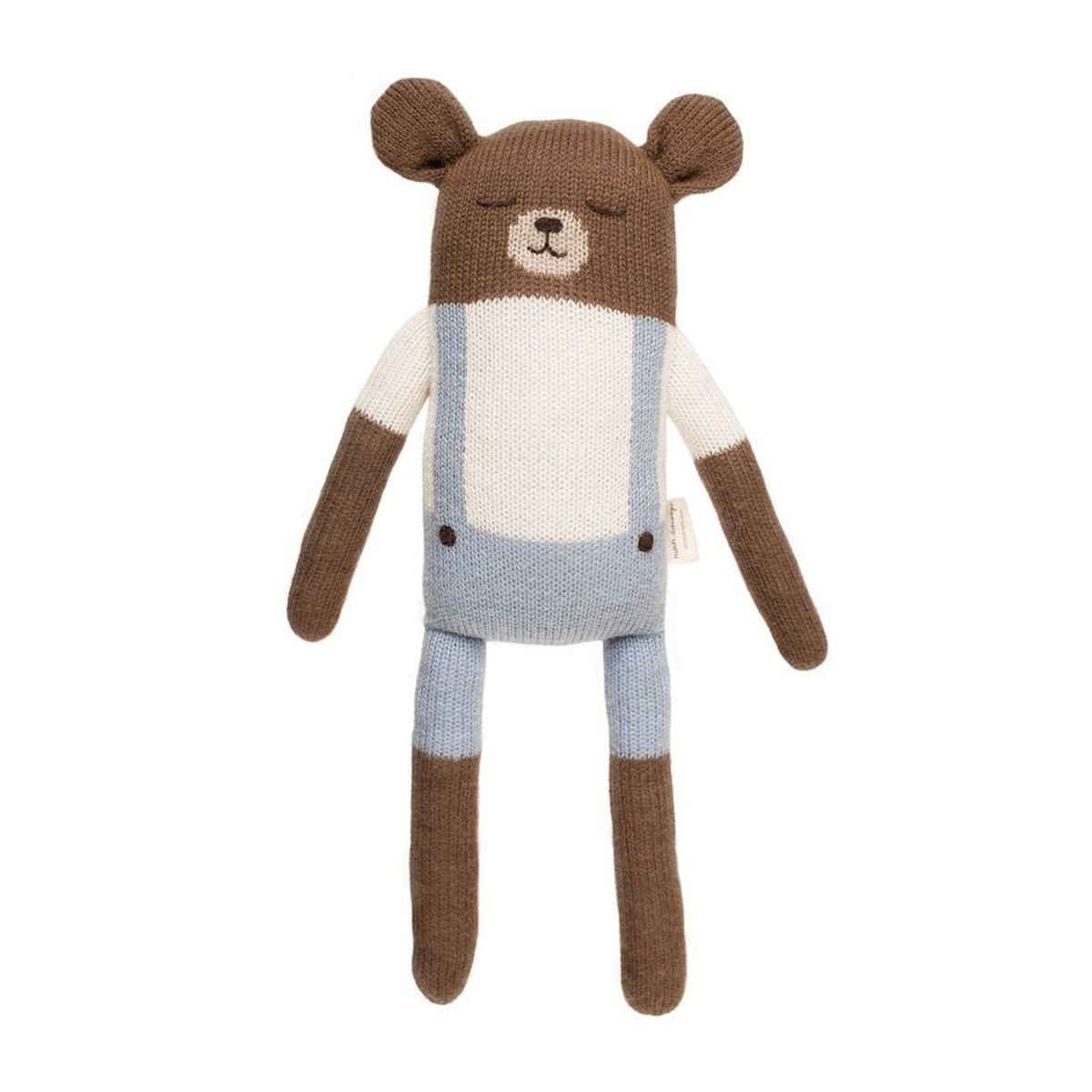 Main Sauvage - Big Teddy Soft Toy With Blue Shorts - 1
