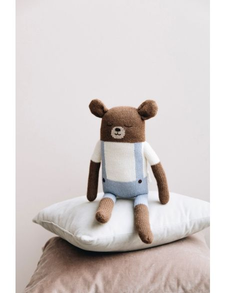 Main Sauvage - Big Teddy Soft Toy With Blue Shorts - 2