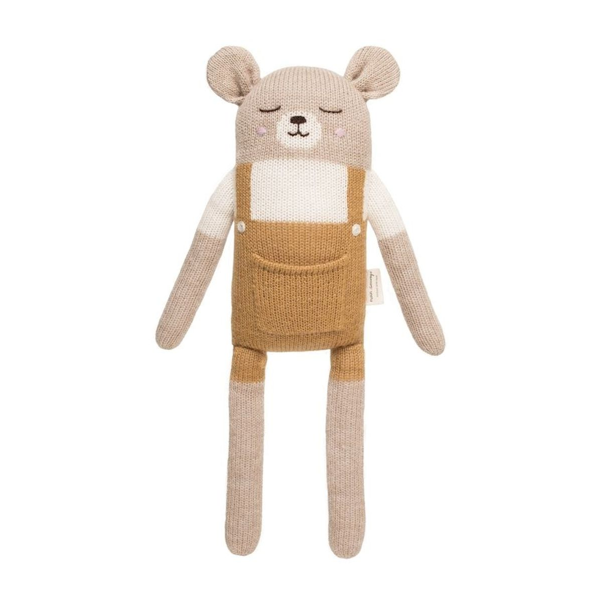 Main Sauvage - Big Teddy Soft Toy With Mustard Shorts - 1