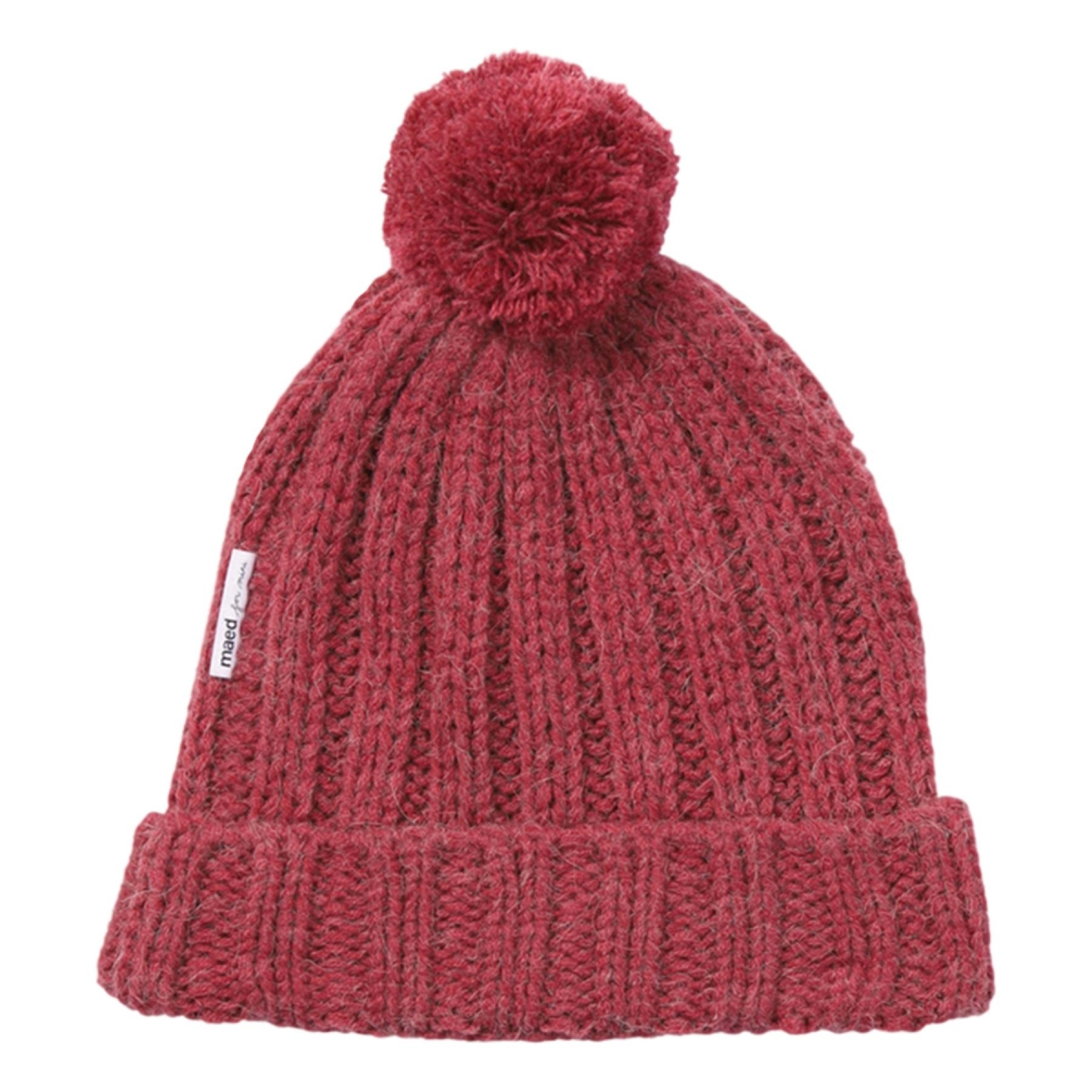 Maed for mini - Knit Hat rosy rabbit - 1