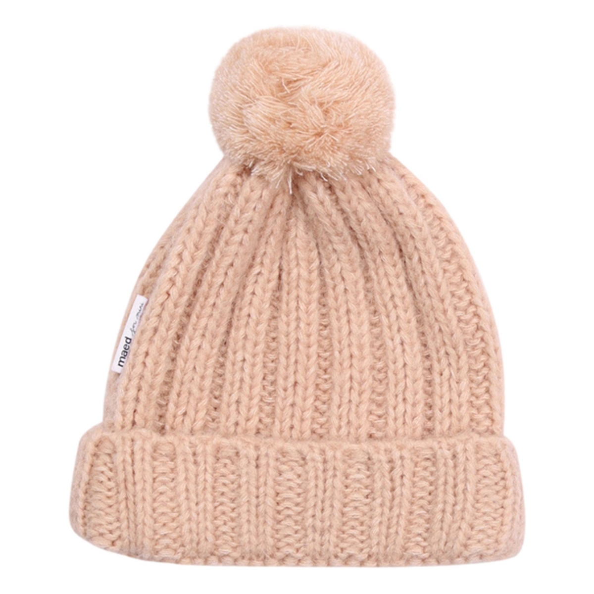 Maed for mini - Knit Hat peach parrot - 1
