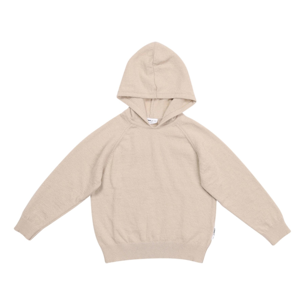 Maed for mini - Knit hoodie luxurious lynx - 1