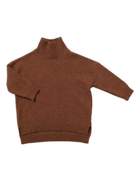 Maed for mini - Knit sweater wacky wallaby brown - 1