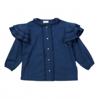 Blouse sassy seal blue