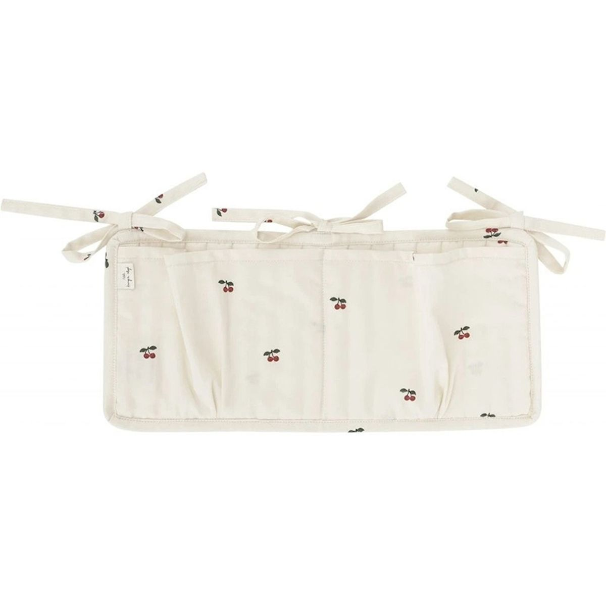 Konges Slojd - Quilted Bed Pockets Cherry - 1