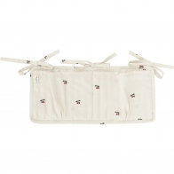 Quilted Bed Pockets Cherry