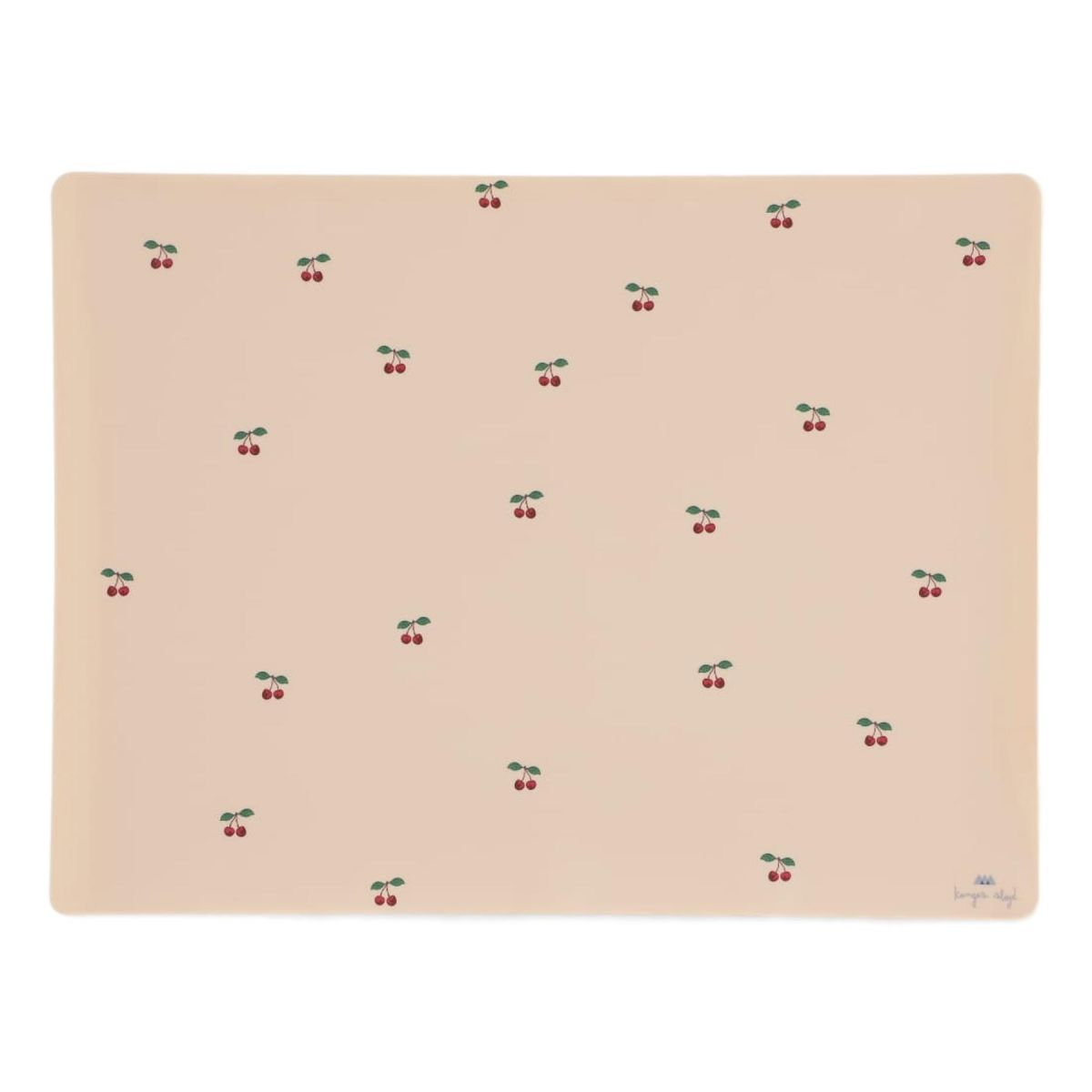 Konges Slojd - Placemat Silicone Cherry - 1