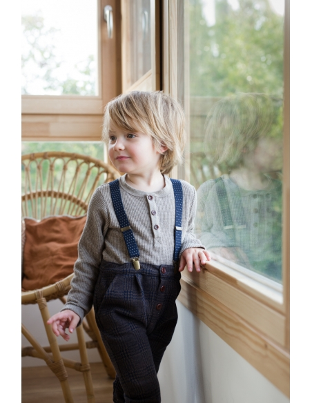 1 + in the family - Koldo Suspenders blue notte - 2