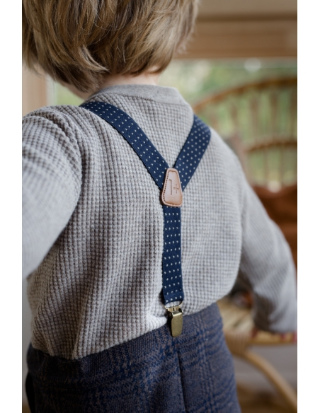 1 + in the family - Koldo Suspenders blue notte - 3