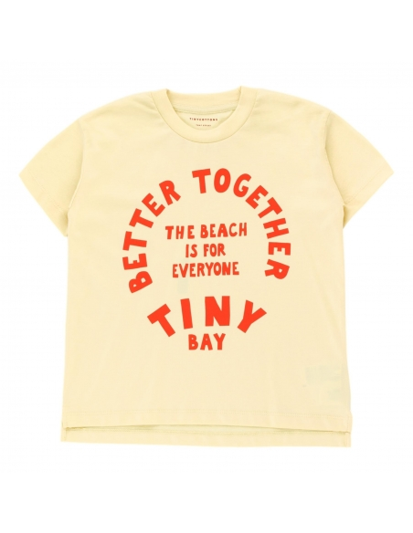 Tiny Cottons - T-shirt Better Together Graphic żółty - 1