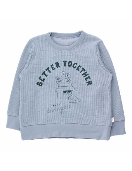 Tiny Cottons - Friends Together Sweatshirt blue - 1
