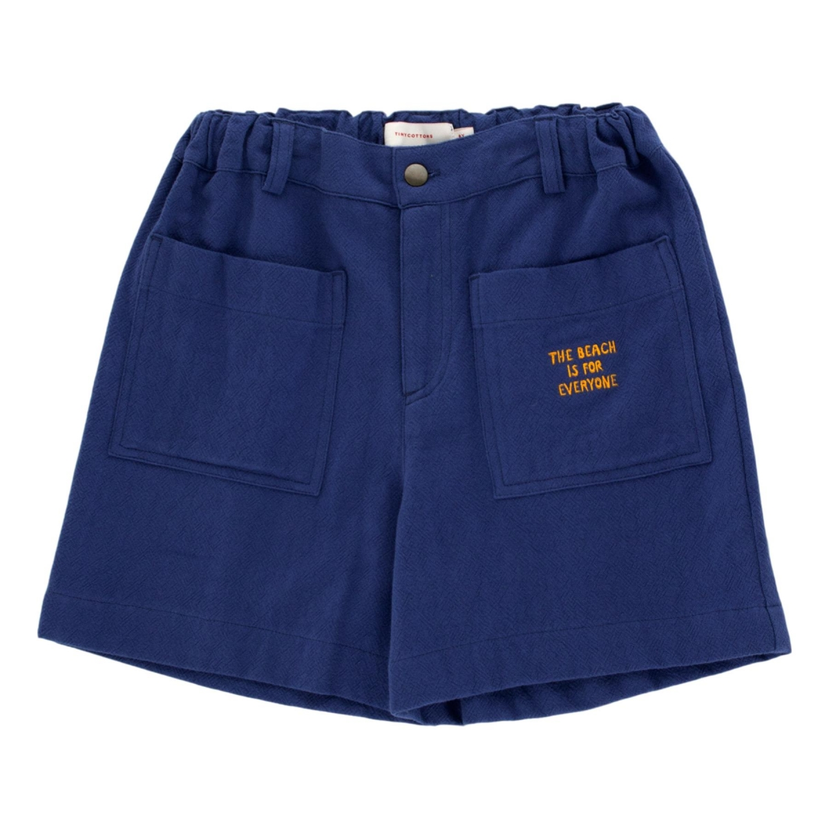Tiny Cottons - Solid Retro Shorts blue - 1