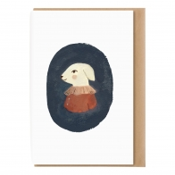 A5 card with envelope Lamb