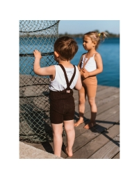 Silly Silas - Shorty Tights Chocolate Brown - 6