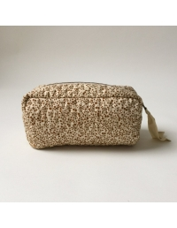 Konges Slojd - Small Quilted Toilery Bag Blossom Mist Birk - 2