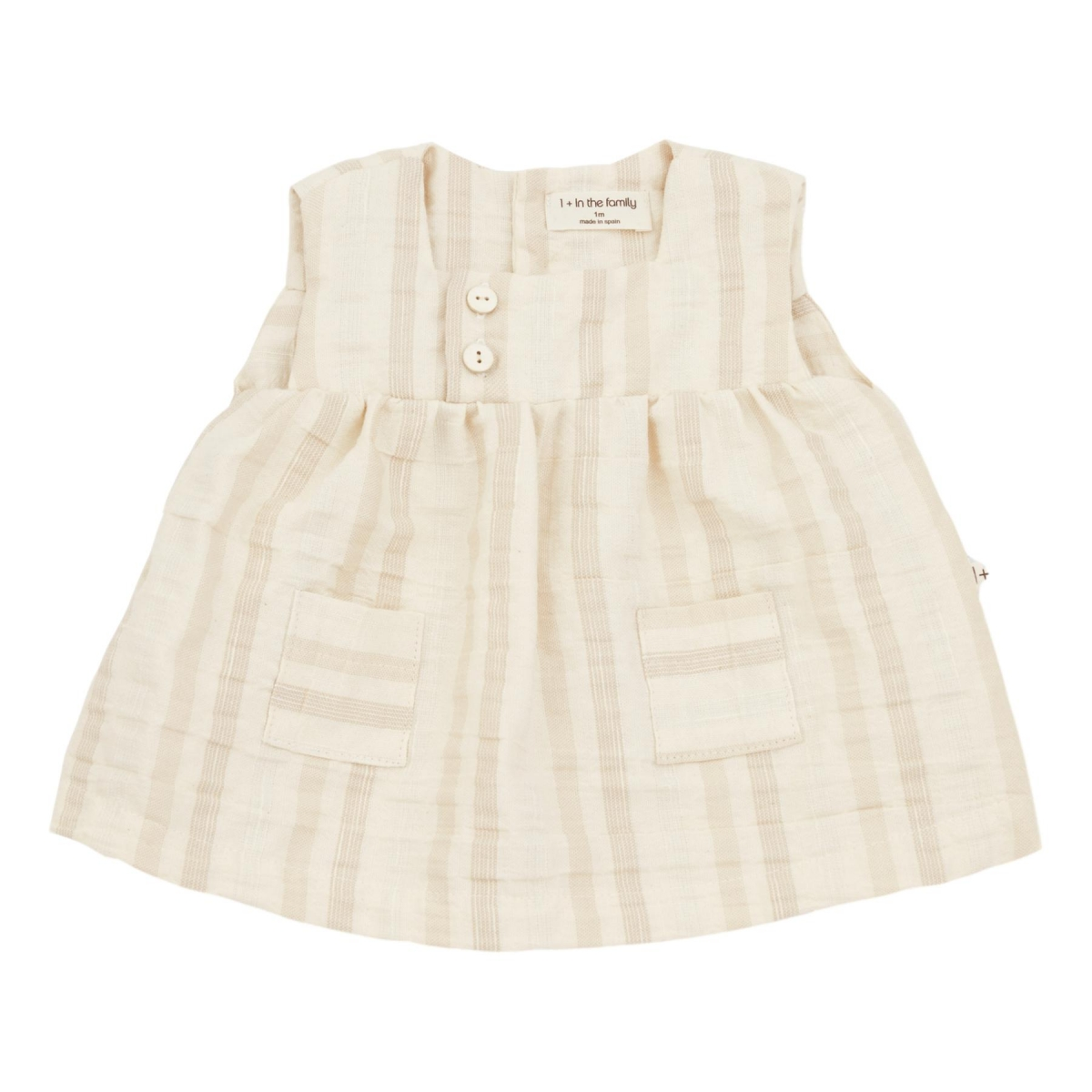 1 + in the family - Silvia Dress Natural - 1