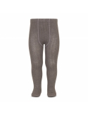 Wide Ribbed Cotton Tights trunk