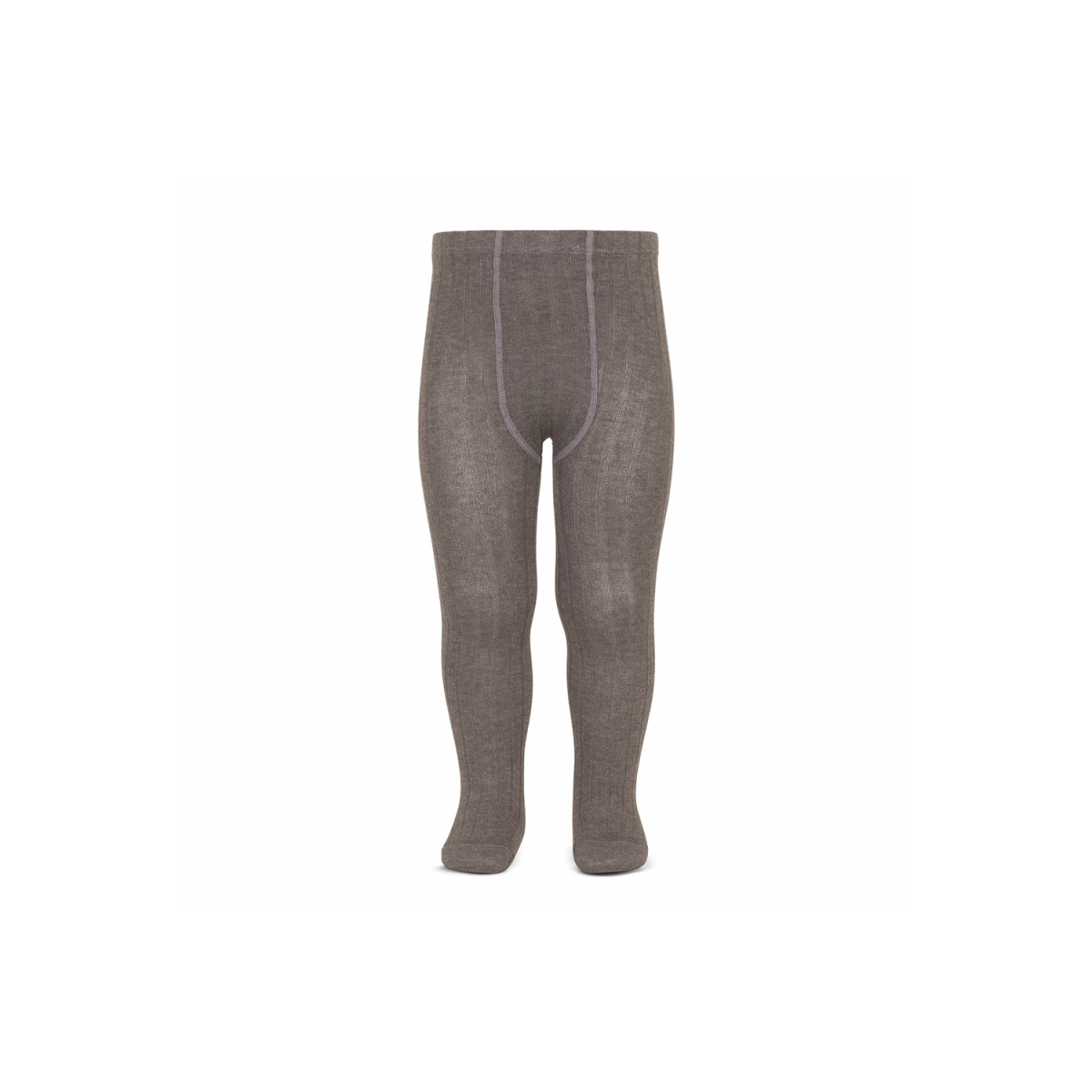 Condor - Wide Ribbed Cotton Tights trunk - 1