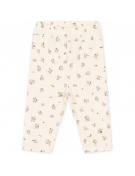 New born Pants Petit Amour Rose Off White