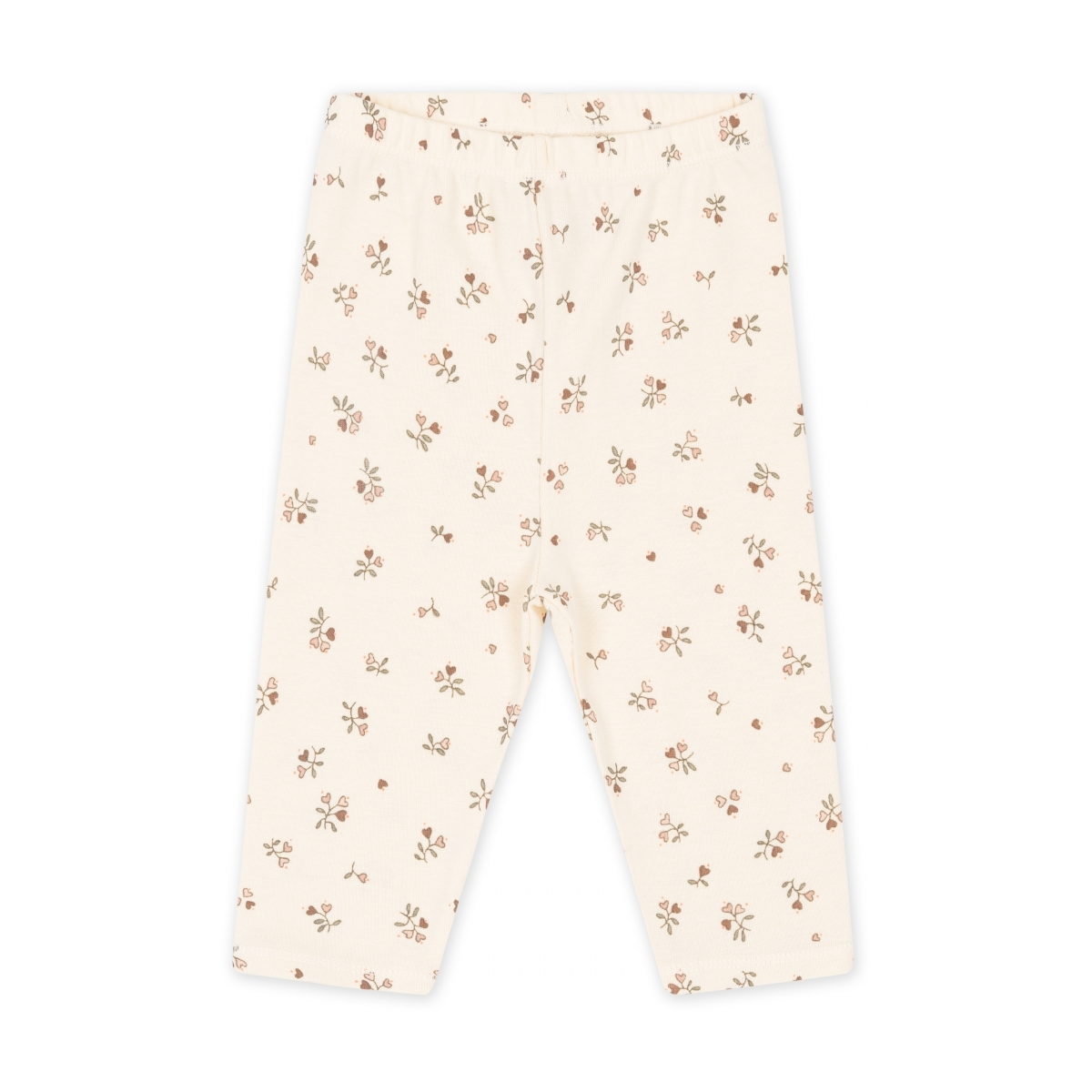 Konges Slojd New born Pants Petit Amour Rose Off White