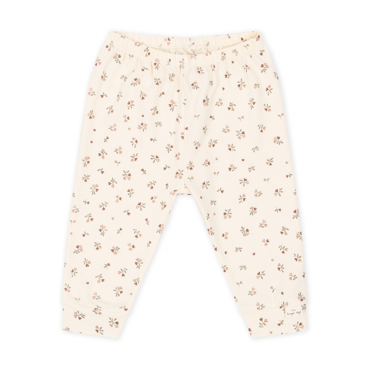 Konges Slojd - Pants Petit Amour Rose Off White - 1
